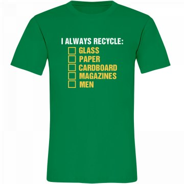 Earth Day Recycling List