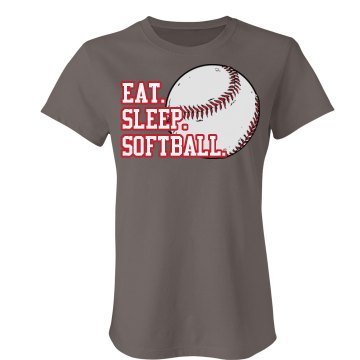 Eat Sleep Softball