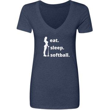Eat, Sleep, Softball