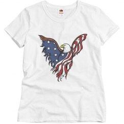 Fourth of July eagle