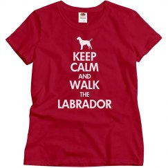 Walk the Labrador