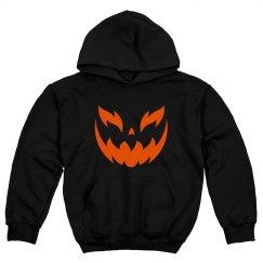 Halloween Face Hoodie