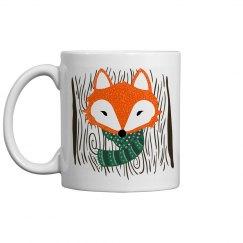Cold Fox Coffee Mug