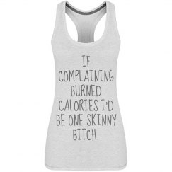 daily workout funny fitness tank