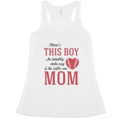 Baseball Mom My Son Stole My Heart