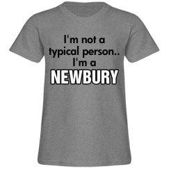 I'm a Newbury!