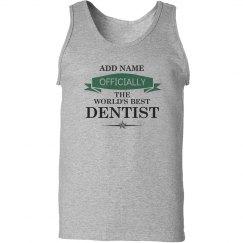 World's best Dentist Tank top