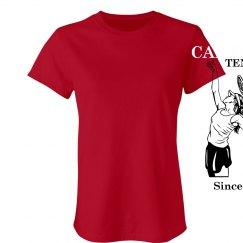 Cal U Tennis Vintage T