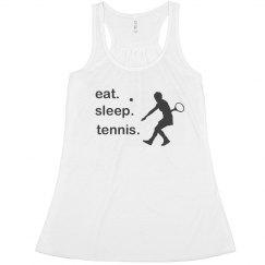 Eat Sleep Tennis Tank