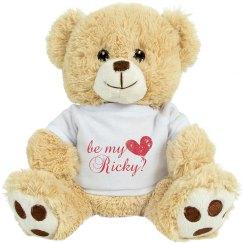 Be My Valentine Ricky
