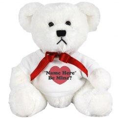 Be My Valentine Plush