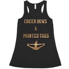 Cheer Bows & Pointed Toes