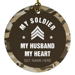 My Soldier Ornament
