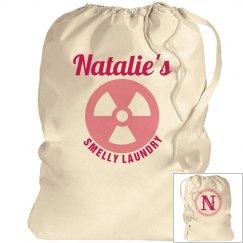 NATALIE. Laundry bag