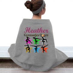 AWESOME GYMNAST BLANKET