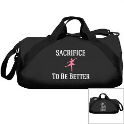 Sacrifice to be better