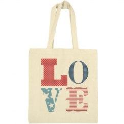 Love The USA Bag