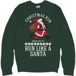 Run Like A Santa