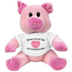 Pig Prom Plush