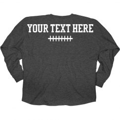 Custom Text Billboard Jersey Win