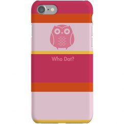 Owl Strip iPhone Case