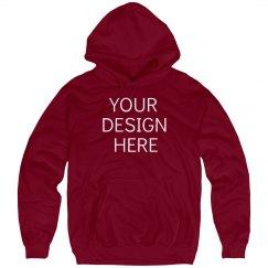 Custom Red Hooded