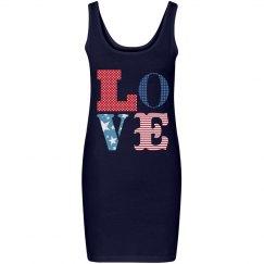 Love The USA Dress