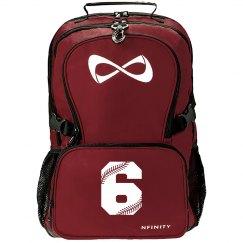 Softball Team Number Nfinity Backpack