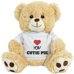 love you cutie pie