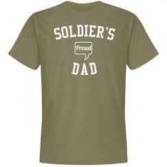 Proud soldier's dad