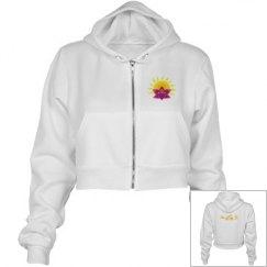 Flirty triathlete hoodie