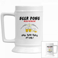 Beer Pong Referee