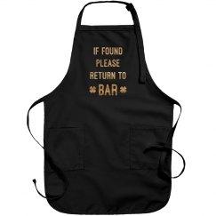 Return To Bar Apron