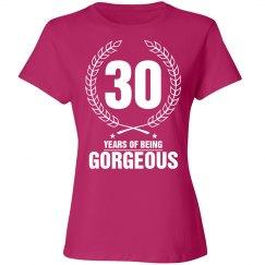 30 years of being Georgous