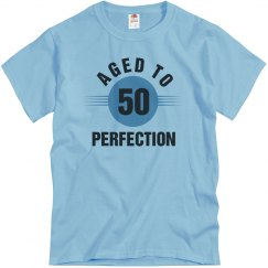 50 aged to perfection