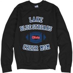 Blue Football Sweatshirt