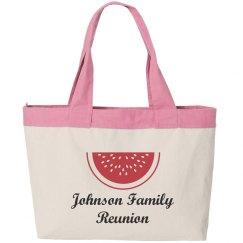 Family Reunion Beach Bag
