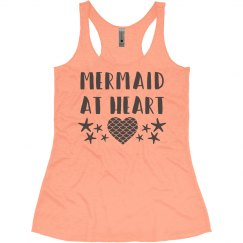Neon Mermaid At Heart
