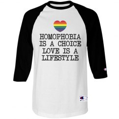 Homophobia Is A Choice