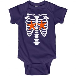 Infant Girls Skelemermaid Onsie