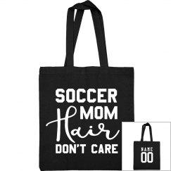 Custom Soccer Mom Hair Bag