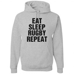 Eat sleep Rugby Repeat