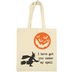 Got You Under Spell Witch Halloween Bag