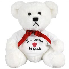 Plush Teddy Teacher Gift