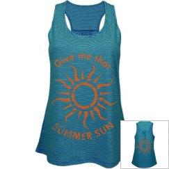 Summer Sun Graphic Tank