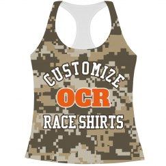 All Over Camo Print Race Design