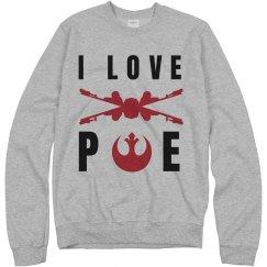 I Love Poe Dameron X-Wing