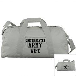 Army Wife Gym Bag