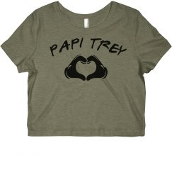 Papi Trey Crop Tee