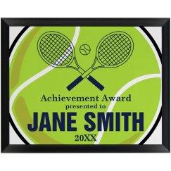 Tennis Achievement Award